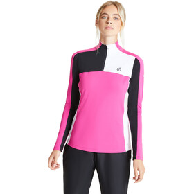 Dare 2b Default Core Stretch Bluza Kobiety, active pink/black/white